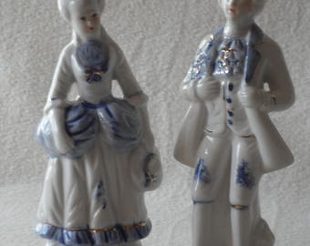 Vintage, German porcelain figures, vintage, German porcelain figurine