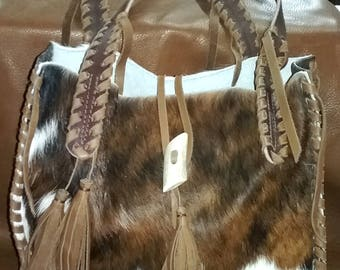 Unique, One of a kind, Cowhide Bag - Purse, Check out our options! Please read description for ordering information.