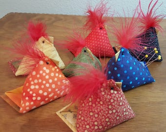 Pin Cushion Chicks