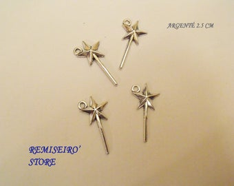 2 charm clover 4 bronze leaves Dimension: 2.5 mm