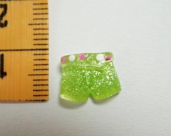 short mini green n ° 2