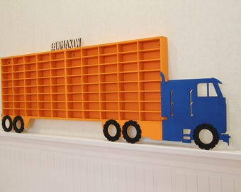 how to build a hot wheels display case