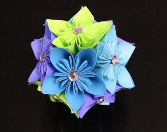 Colorful Kusudama Flower Ball - Handmade