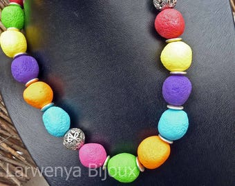 Meteorites - tart necklace