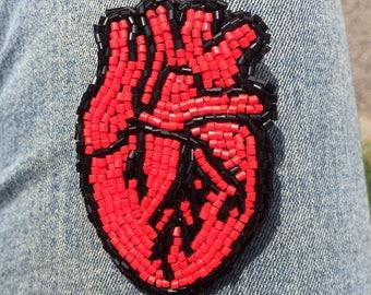 The loving heart brooch