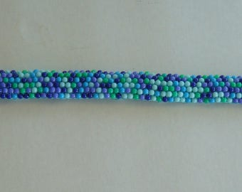 embroidered beads headband