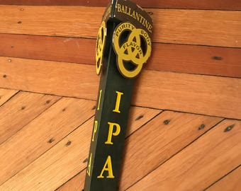Balentines IPA Beer Tap Handle