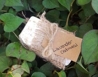 Lavender Oatmeal Lye Soap