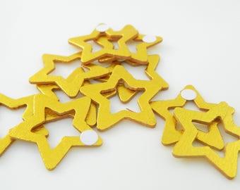 20 x Star Gold Stick (l1244) cardboard