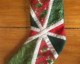 Handmade Quilted Stocking