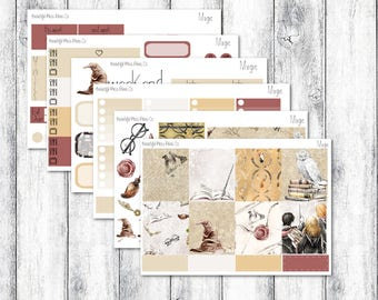 Magic // Erin Condren Horizontal // Weekly Sticker Kit