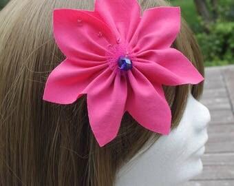 Flower hair for special ceremonies, unique!