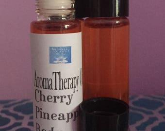 10 mil. Cherry Pineapple Body Oil-Custom Blends-Roll on Body Oils-Perfume Oil