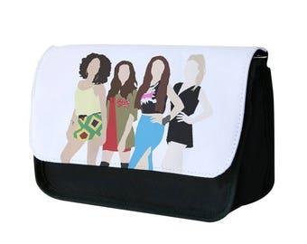 Little Mix Cartoon Pencil Case / Makeup Bag - Fun Cases