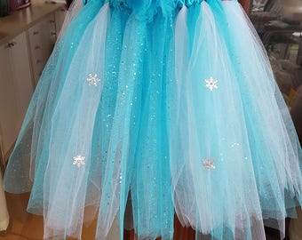 Hand made Frozen Tutu 3 years