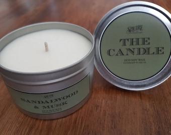 The Candle - Sandalwood & Musk