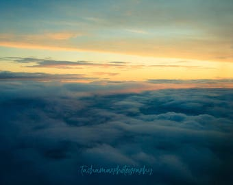As the World Wakes - Landscape Photography, Nature, Sunrise, Sky Print, Dawn, Clouds, Home Decor, Wall Art