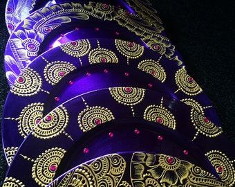 Mehndi/henna plate