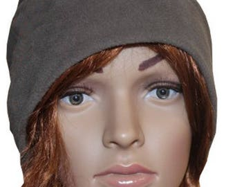 Snood Cap made in France mixed fleece and customizable