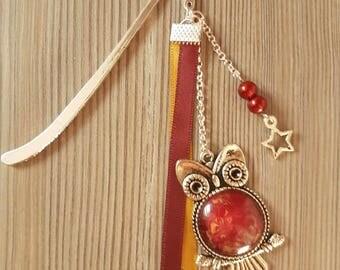 Burgundy and gold Gryffindor bookmark