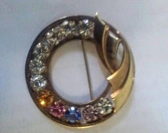 Vintage Catamore 12K Gold Filled Mothers Brooch Pin