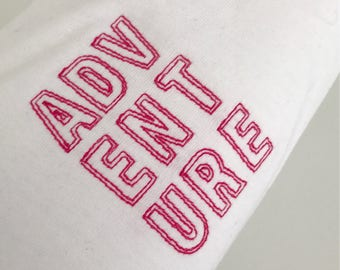 ADVENTURE Embroidered T-Shirt