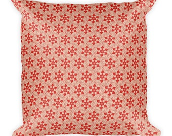 Sod Off flowers - Square Pillow