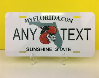 FLORIDA Novelty  License Plate