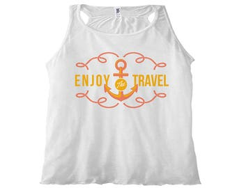 Women's Tank Top Enjoy the Travel
