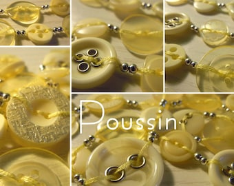 Chick - Long necklace made of buttons