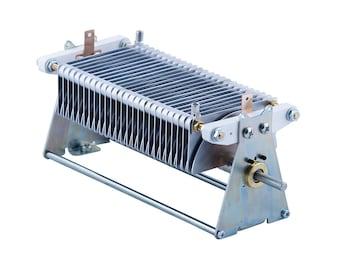 Air variable capacitor 30 - 470 pF, 2.5 kV