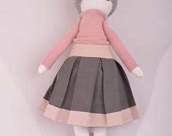 Interior doll , Rag Doll, Textile Doll, decoration, Cloth Doll, Art Doll,  Ooak, Soft doll, collectible doll