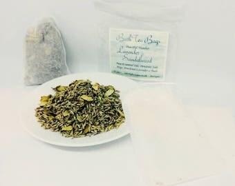 Bath Tea Bag Lavender, Sandalwood & Hops