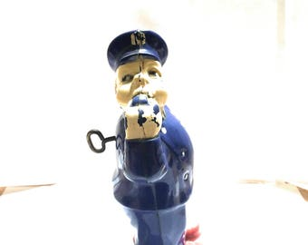 Vintage toy from 1950s antique wind up toy