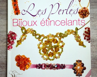 Book beads, sparkling jewelry