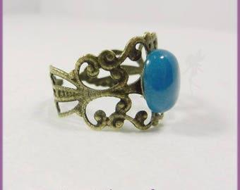 "Ring ""Gemstone"" blue eye"