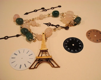 Eiffel tower 1660 Wood for your jewelry or not