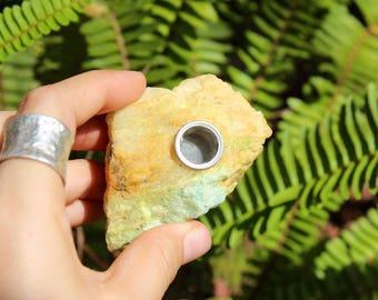 Emerald Beryl pipe