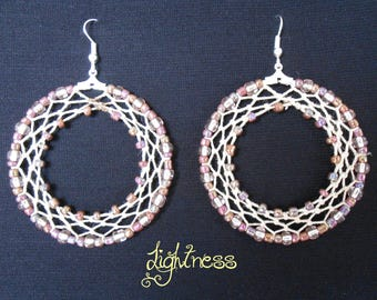 "Rings ""Open rings"" earrings"