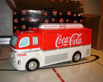 Coca Cola Truck Cookie Jar