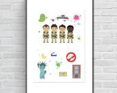 Affiche Ghostbusters, aff...