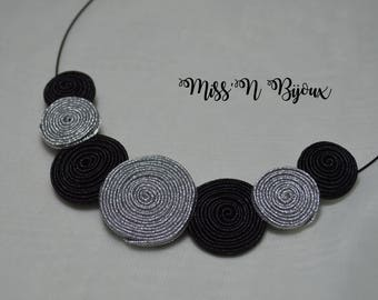 Spiral necklace braid