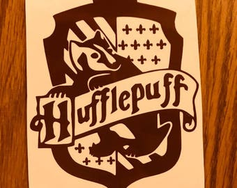 Harry Potter Hufflepuff vinyl decal