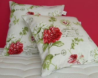 Peony Cushion furniture Fancy flowers linen