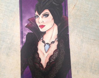 Bookmark Maleficent s4 / Marque Pages Malefique s4
