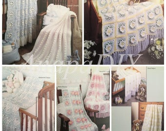PDF 9 Crochet Afghans For Baby