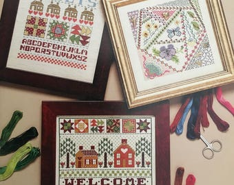 PDF 9 Cross-Stitch Crazy About Quilts