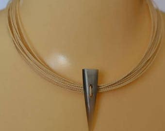 Necklaces - Thin Rope of Buriti Necklace