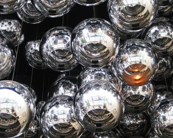 Digital Photography Download - Mirrored Globes Galway Ireland