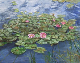 Maryse's water lilies